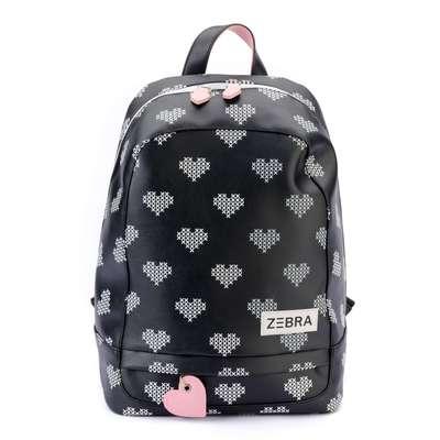 ba73d80579b Zebra Rugtas Crossed Hearts mt. L – High5Fashion